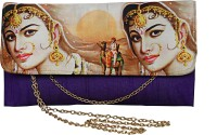 Decot Paradise Women Purple Silk Sling Bag