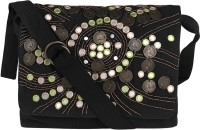 Nandeetas Black Sling Bag