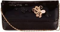 NxtGen Girls Black Leatherette Sling Bag