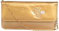 Nxt Gen Girls Gold Leatherette Sling Bag
