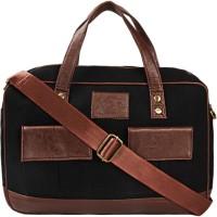 View Lugo 16 inch Laptop Messenger Bag(Black) Laptop Accessories Price Online(Lugo)
