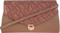 Satchel Women Pink, Multicolor Polyester Sling Bag