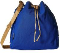Creative India Exports Women Blue Canvas Sling Bag