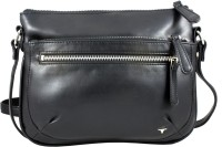Bulchee Women Black PU Sling Bag