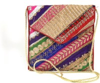 Dyuthi Creations Women Red Velvet Sling Bag
