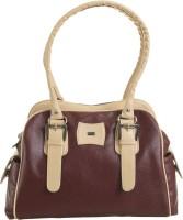 Goodwill LEATHER ART Brown, Beige Shoulder Bag