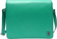 Hawai Women Green Genuine Leather Sling Bag