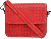 Kazo Women Red PU Sling Bag