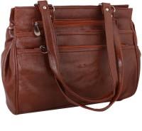 Sukkhi Women Brown PU Shoulder Bag