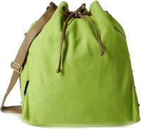Creative India Exports Women Green Canvas Sling Bag