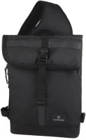 Victorinox Men & Women Black Nylon Sling Bag