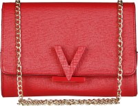 MARIO VALENTINO Women Red Genuine Leather Sling Bag