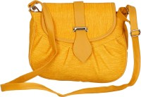 Belladona Women Yellow PU Sling Bag