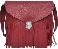Hawai Women Maroon PU Sling Bag