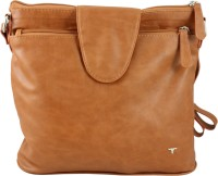 Bulchee Women Tan PU Sling Bag