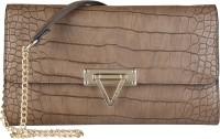 MARIO VALENTINO Women Brown Genuine Leather Sling Bag