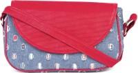 Rysha Women Blue, Red PU Sling Bag