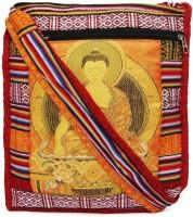 Kraftrush Women Multicolor Cotton Sling Bag