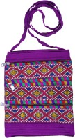 Cay Purple Sling Bag