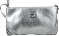 Bulchee Women Silver PU Sling Bag