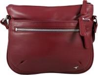 Bulchee Women Maroon PU Sling Bag