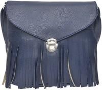 Hawai Women Blue PU Sling Bag