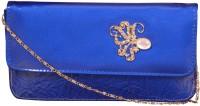 NxtGen Girls Blue Leatherette Sling Bag