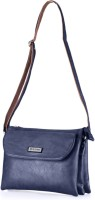 Be Trendy Girls Formal Blue PU Sling Bag