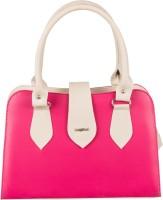 Lady World Pink, Beige Hand-held Bag