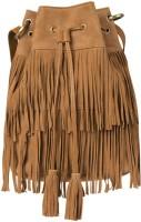 Romari Women Tan Genuine Leather Sling Bag