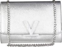 MARIO VALENTINO Women Silver Genuine Leather Sling Bag