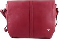 Bulchee Women Maroon Leatherette Sling Bag