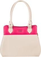 Lady World Beige, Pink Hand-held Bag
