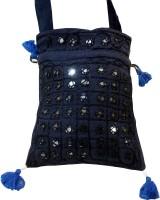 Minky's Decor Blue Sling Bag