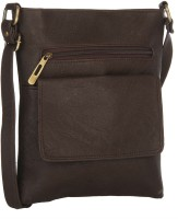 Creative India Exports Women Brown Polyester Sling Bag