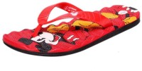 Disney Boys Slipper Flip Flop(Red)