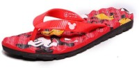Disney Boys & Girls Slipper Flip Flop(Red)