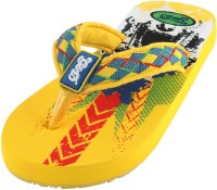 Guys & Dolls Boys & Girls Slipper Flip Flop(Yellow)