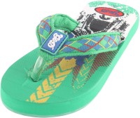 Guys & Dolls Boys & Girls Slipper Flip Flop(Green)