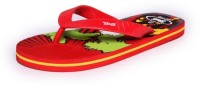 guys and dolls Boys Slipper Flip Flop(Red)