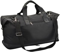 Giftwell Folding Leatherite Small Travel Bag  - Medium(Black)