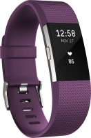 FITBIT Charge 2 Small(Plum silver Strap, Size : Small)