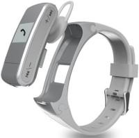 Technomart GX-BW170 Fitness Smart Band(Silver Strap, Size : Regular)