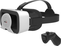 Irusu Minivr VR headset with remote and 42mm HD lenses(Smart Glasses)