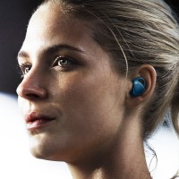 Samsung Gear IconX Blue Smart Headphones