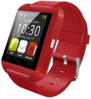 Aomax Bluetooth U8 Watch Smartwatch(Red Strap, Regular)