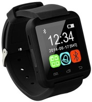 MDI Bluetooth Watch for iPhone, Sony, Samsung & All Android BLACK Smartwatch(Black Strap Regular)