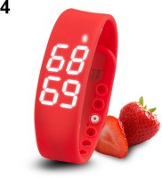ZVR FLIPFIT Fitness BanD 3D PeDometer Sleep Temperature Calorie Monitor Time Display Silicon Without