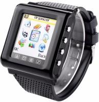 Maya U8 MST-311-Black Fitness Smartwatch(Black Strap, Regular)