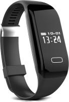 Hewitt HWSW-00H3 Fitness Smartwatch(Black Strap, Regular)